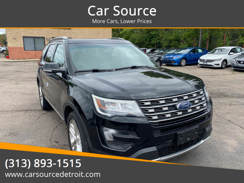 2016 Ford Explorer for sale at Car Source in Detroit MI