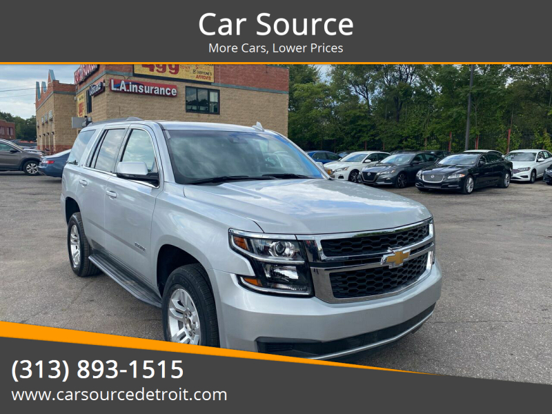 2020 Chevrolet Tahoe for sale at Car Source in Detroit MI