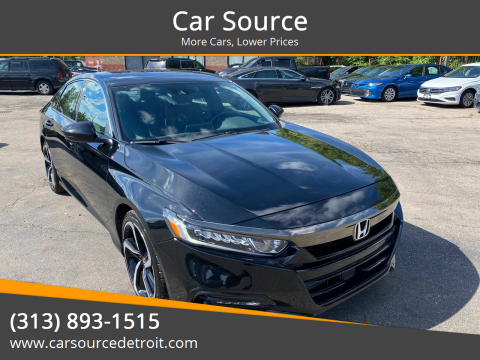 2018 Honda Accord for sale at Car Source in Detroit MI