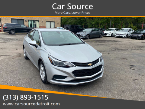 2016 Chevrolet Cruze for sale at Car Source in Detroit MI