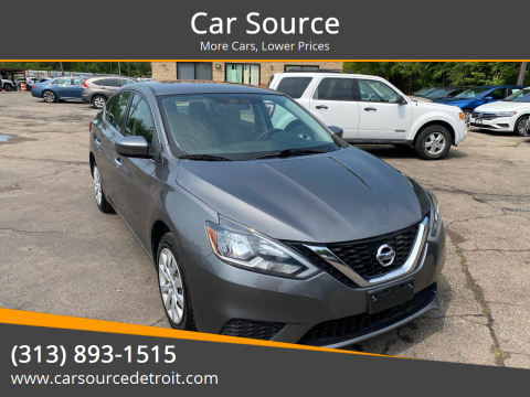 2016 Nissan Sentra for sale at Car Source in Detroit MI
