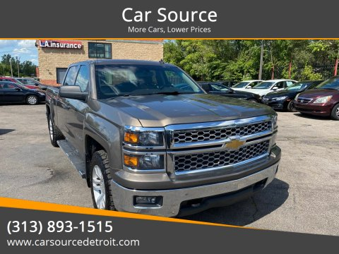 2014 Chevrolet Silverado 1500 for sale at Car Source in Detroit MI