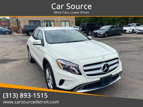 2017 Mercedes-Benz GLA for sale at Car Source in Detroit MI