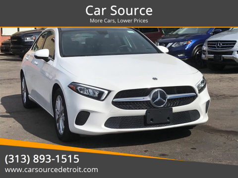 2019 Mercedes-Benz A-Class for sale at Car Source in Detroit MI