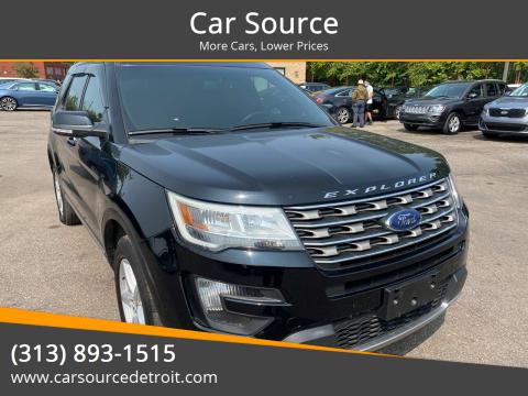 2016 Ford Explorer for sale at Car Source in Detroit MI