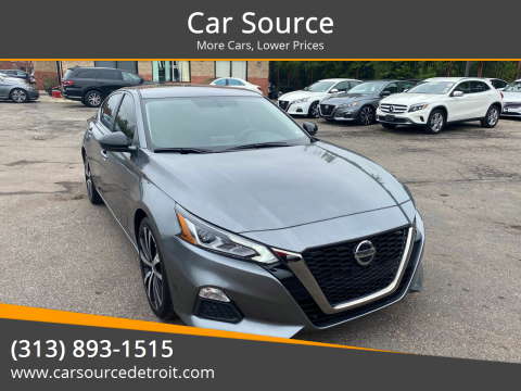 2019 Nissan Altima for sale at Car Source in Detroit MI