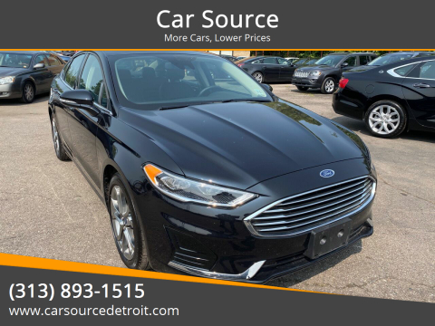 2020 Ford Fusion for sale at Car Source in Detroit MI