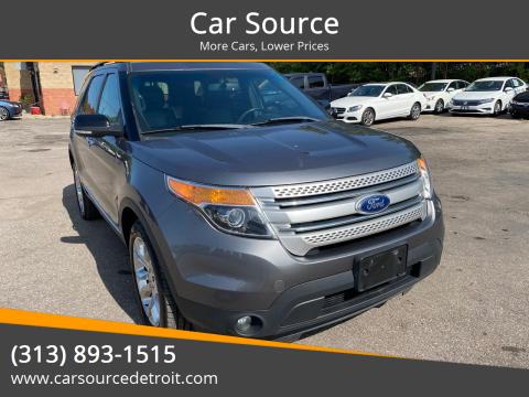 2013 Ford Explorer for sale at Car Source in Detroit MI