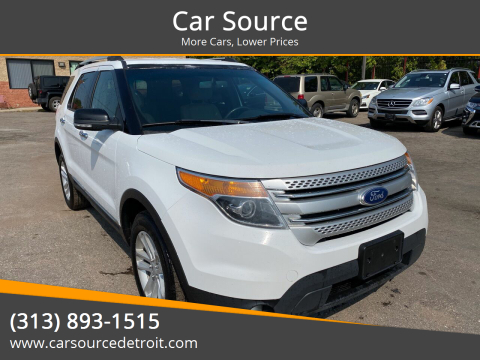 2015 Ford Explorer for sale at Car Source in Detroit MI