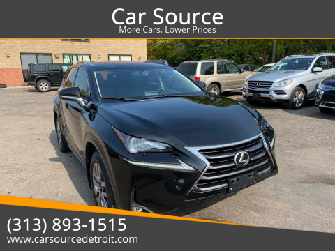 2015 Lexus NX 200t for sale at Car Source in Detroit MI