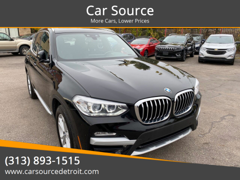 2019 BMW X3 for sale at Car Source in Detroit MI