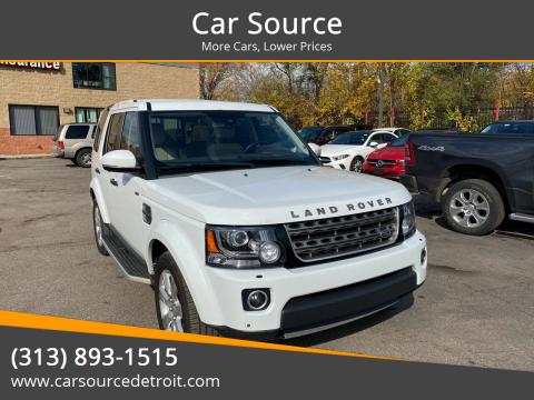 2016 Land Rover LR4 for sale at Car Source in Detroit MI