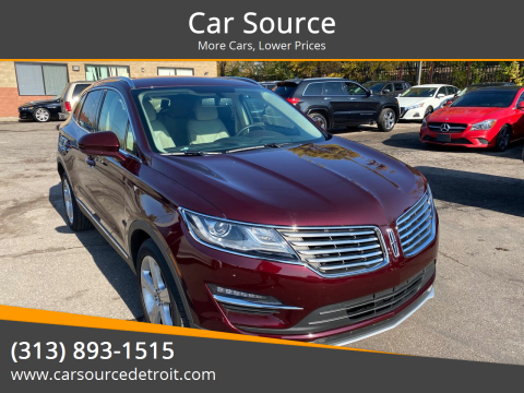 2018 Lincoln MKC for sale at Car Source in Detroit MI