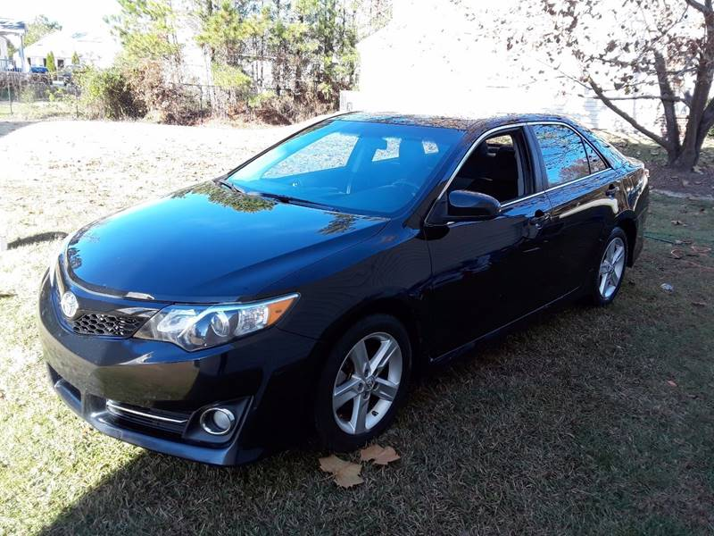 2012 Toyota Camry SE Sport Limited Edition 4dr Sedan   Raleigh NC