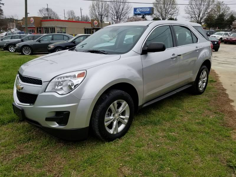 2013 Chevrolet Equinox LS 4dr SUV In Raleigh NC - CAC Auto Sales