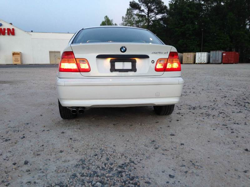 Bmw Series Xi AWD Dr Sedan In Raleigh NC CAC Auto Sales - Bmw 325xi awd