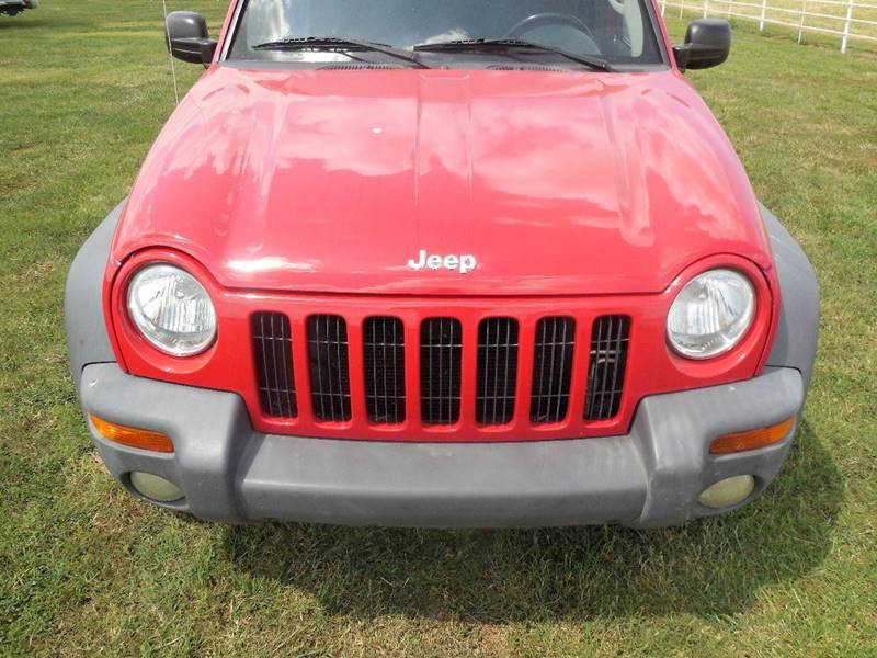 2002 Jeep Liberty Sport 4dr 2WD SUV - Mounds OK