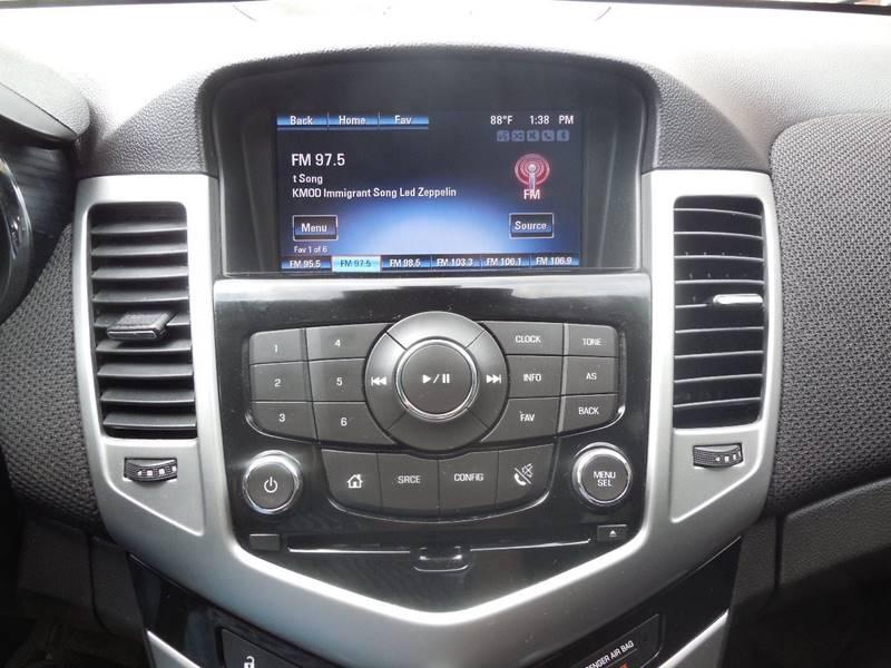 2014 Chevrolet Cruze 1LT Auto 4dr Sedan w/1SD - Mounds OK