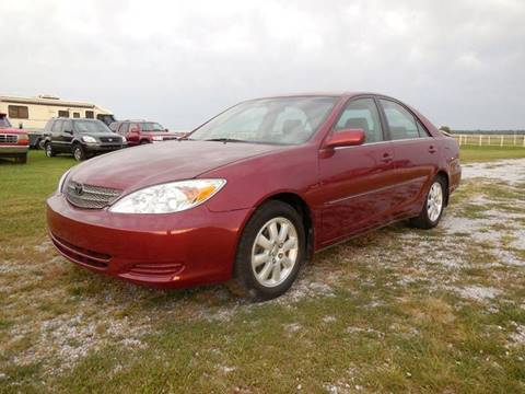 2002 Toyota Camry for sale in Mounds, OK