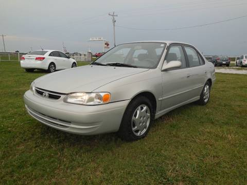 1999 Toyota Corolla for sale in Mounds, OK