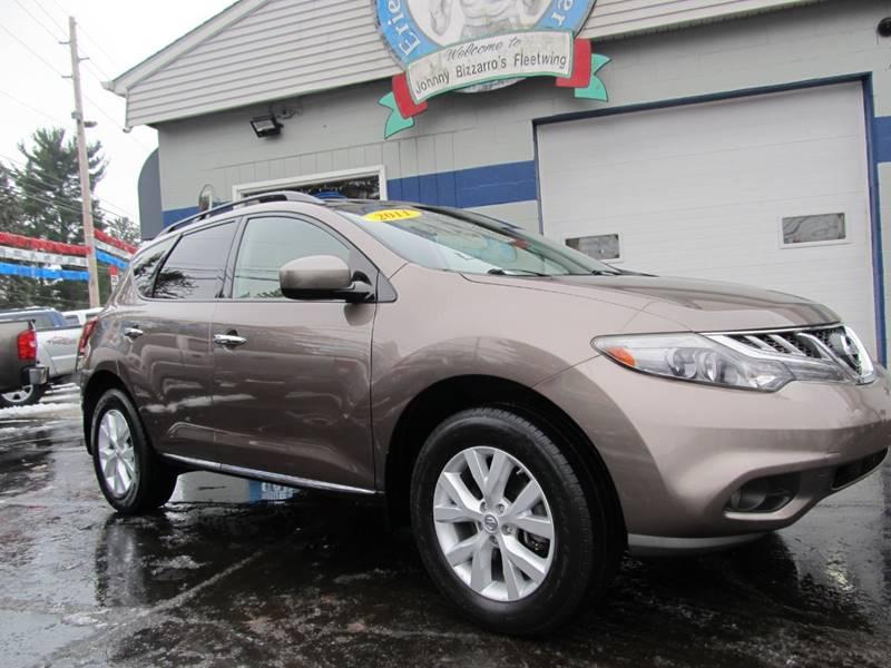 Nissan Erie Pa >> 2011 Nissan Murano Awd Sl 4dr Suv In Erie Pa Bizzarro S Fleetwing