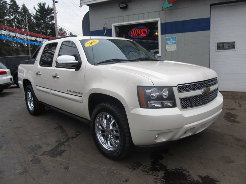 sports shoes ceb49 c23d9 2008 Chevrolet Avalanche 4x4 LTZ 4dr Crew Cab SB - Erie PA