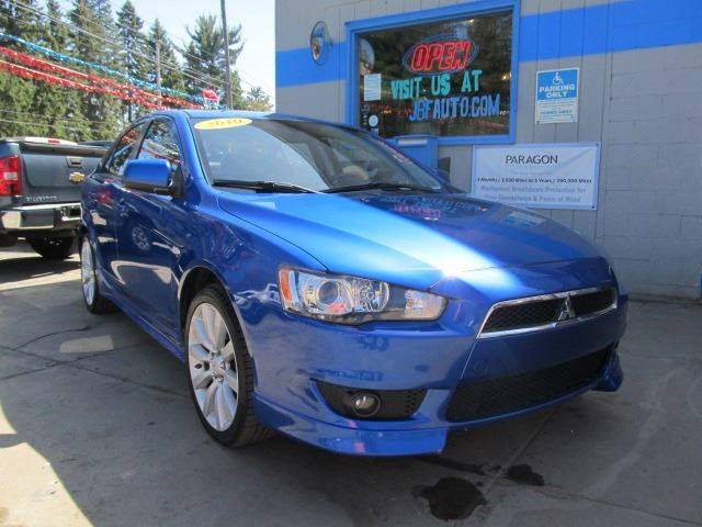 2010 mitsubishi lancer sportback gts 4dr hatchback cvt in erie pa bizzarro s fleetwing auto sales. Black Bedroom Furniture Sets. Home Design Ideas