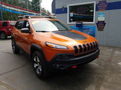 Car Dealerships Erie Pa >> 2015 Jeep Cherokee For Sale In Erie Pa