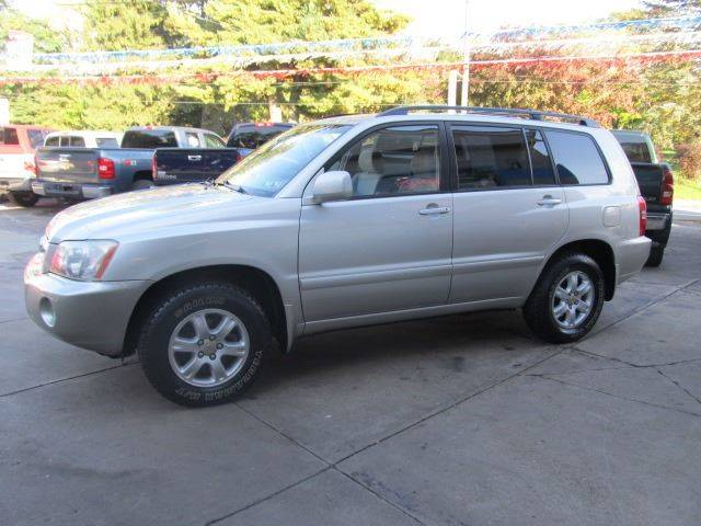 2003 Toyota Highlander AWD Limited 4dr SUV In Erie PA - Bizzarro`s Fleetwing Auto Sales
