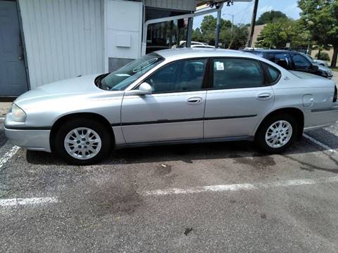 2001 Chevrolet Impala for sale in West Carrollton, OH