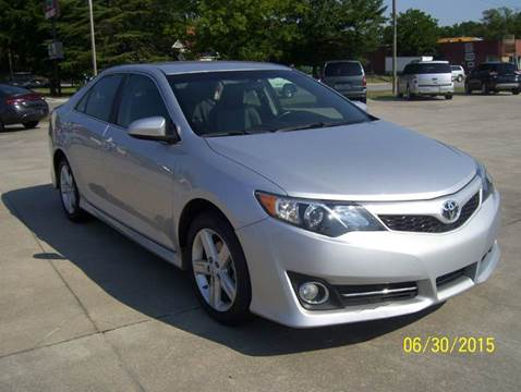 2014 Toyota Camry for sale at Safeway Motors Sales in Laurinburg NC