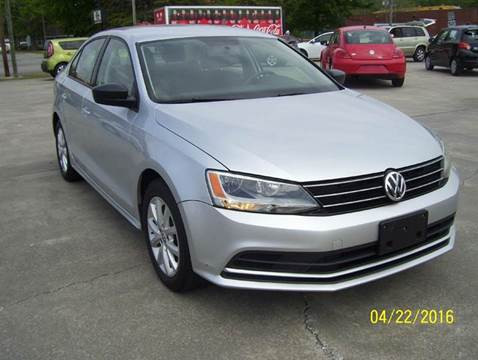 2015 Volkswagen Jetta for sale at Safeway Motors Sales in Laurinburg NC