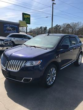 2011 Lincoln MKX for sale in Laurinburg, NC