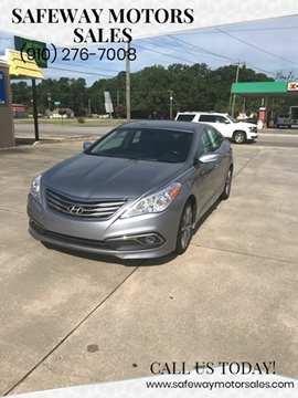 2016 Hyundai Azera for sale at Safeway Motors Sales in Laurinburg NC