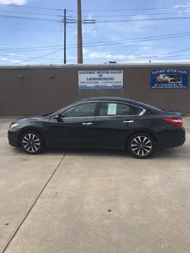 2017 Nissan Altima for sale at Safeway Motors Sales in Laurinburg NC