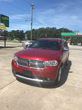 2011 Dodge Durango for sale at Safeway Motors Sales in Laurinburg NC