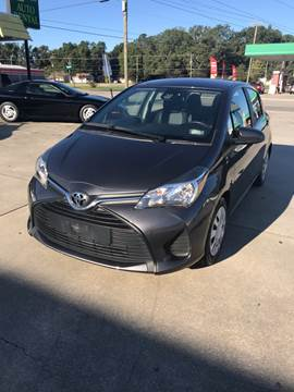 2017 Toyota Yaris for sale at Safeway Motors Sales in Laurinburg NC