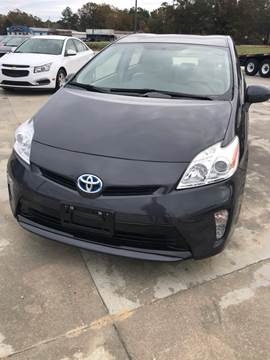 2013 Toyota Prius for sale at Safeway Motors Sales in Laurinburg NC