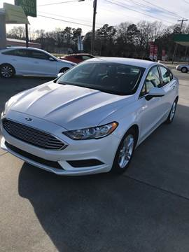 2018 Ford Fusion for sale at Safeway Motors Sales in Laurinburg NC