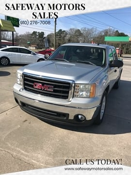2011 GMC Sierra 1500 for sale at Safeway Motors Sales in Laurinburg NC