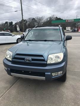 2004 Toyota 4Runner for sale at Safeway Motors Sales in Laurinburg NC