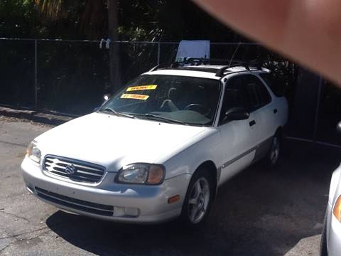 2001 Suzuki Esteem for sale in Cocoa, FL