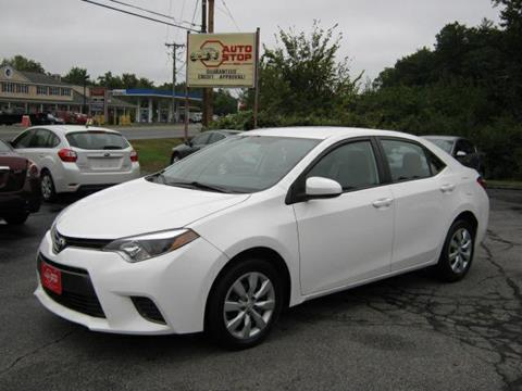 2015 Toyota Corolla for sale in Pelham, NH
