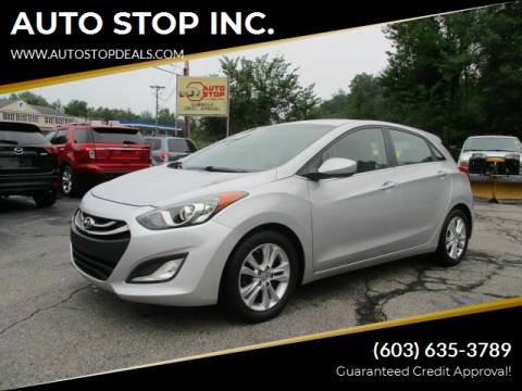 2014 Hyundai Elantra GT for sale at AUTO STOP INC. in Pelham NH