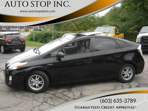 2011 Toyota Prius for sale at AUTO STOP INC. in Pelham NH