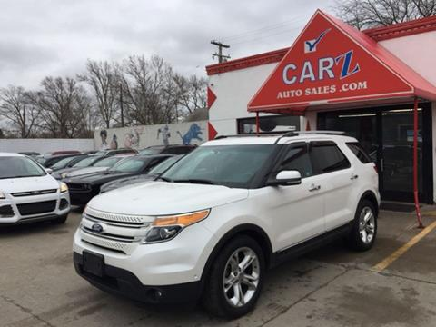 2011 Ford Explorer Limited >> Ford Explorer For Sale In Detroit Mi Carz Auto Sales
