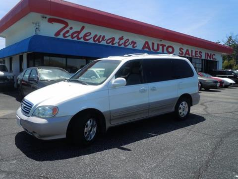 2003 Kia Sedona for sale in Norfolk, VA
