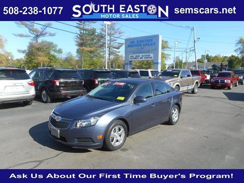 2014 Chevrolet Cruze for sale in South Easton, MA