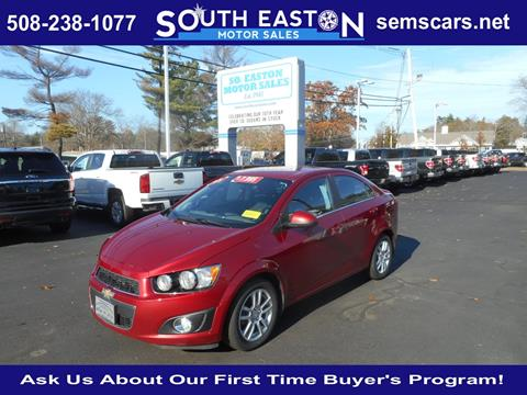 2013 Chevrolet Sonic for sale in South Easton, MA