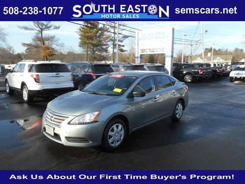 2013 Nissan Sentra for sale in South Easton, MA